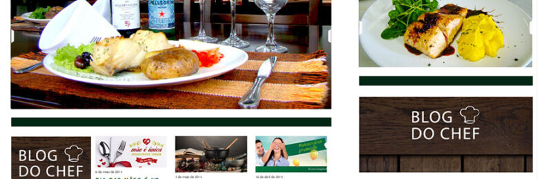 Site Responsivo Restaurante Cantagallo
