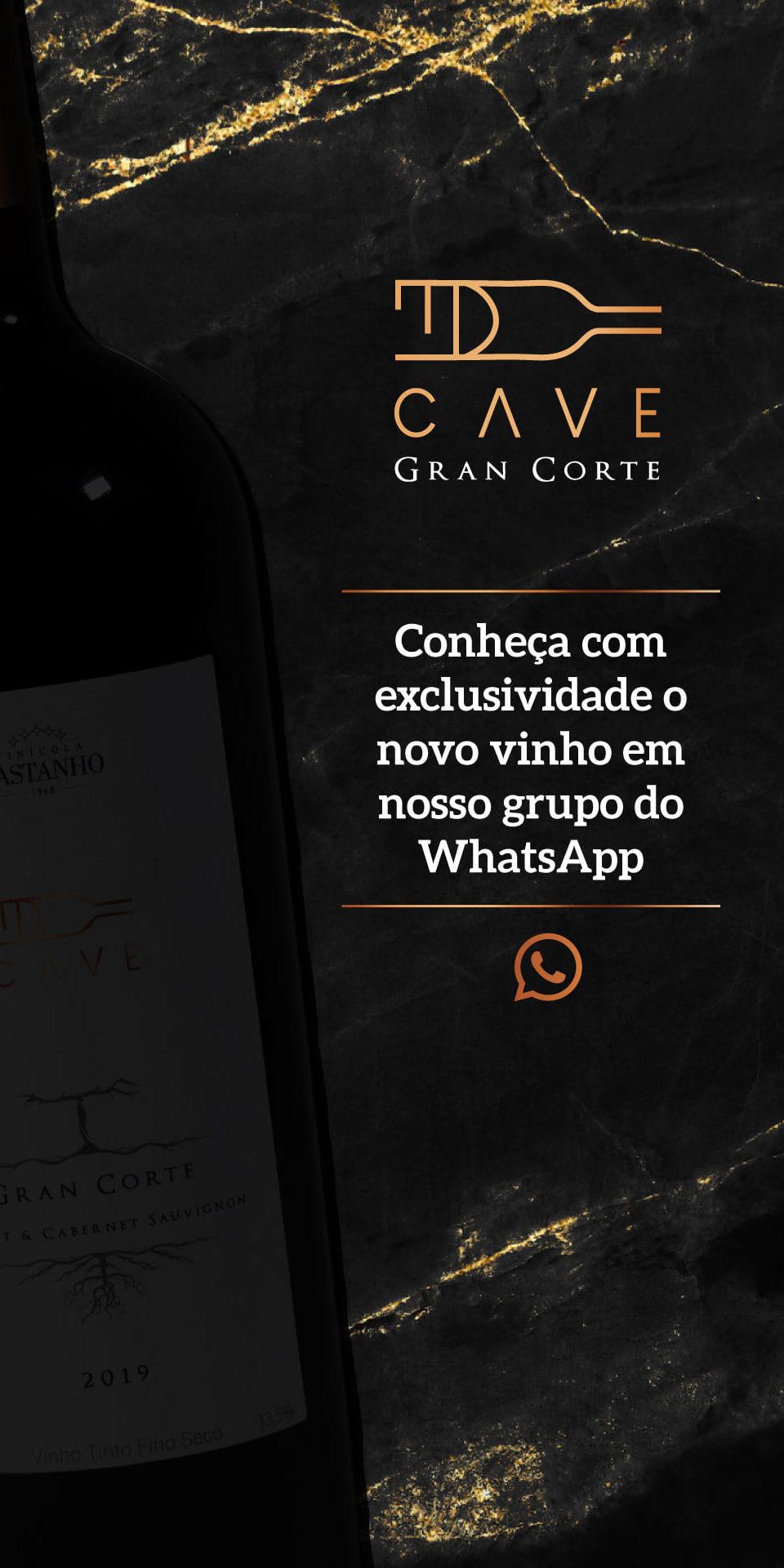Vinícola Castanho - Cave Gran Corte - Pré-lançamento