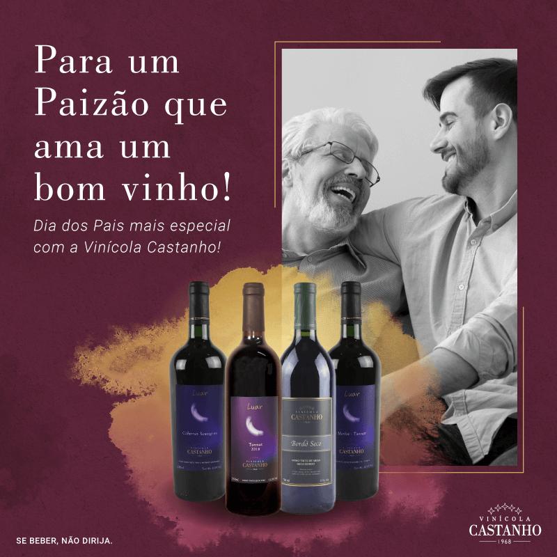 Vinícola Castanho - Dia dos Pais - 2020