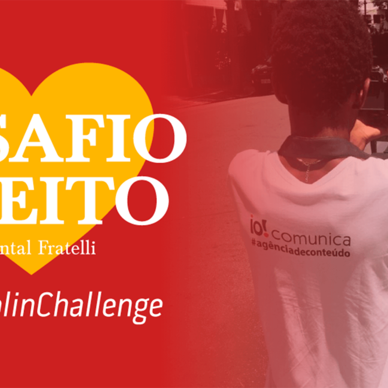 #CHAPOLINCHALLENGE – Nós aceitamos o desafio