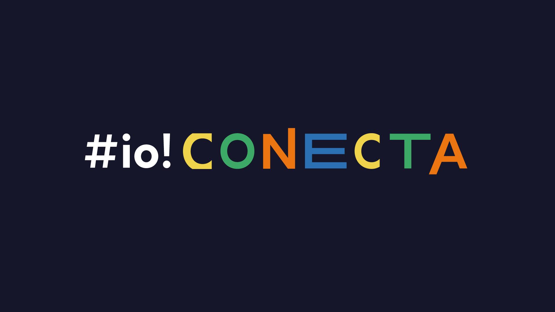 Logo io! conecta